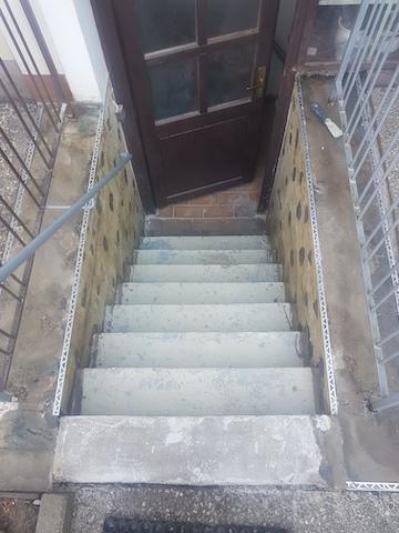 Kellertreppe im Ursprungszustand